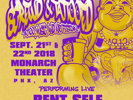 Live Show - Screwd & Tattooed Festival