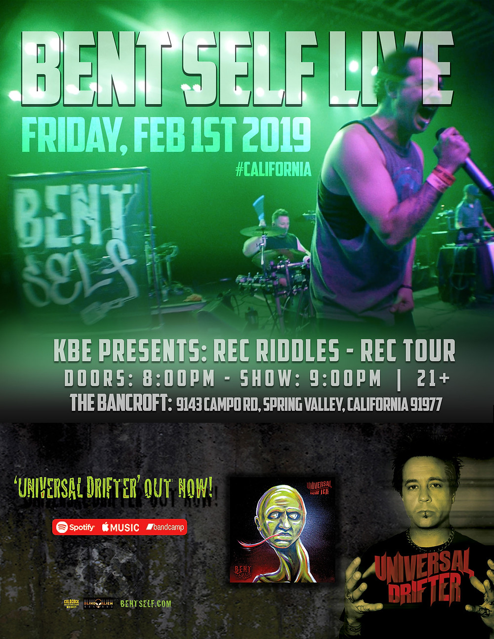 Bent Self Live - San Diego CA - 2019