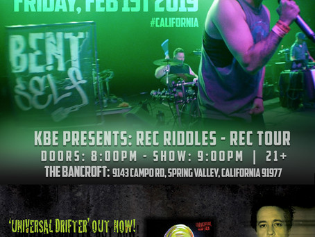 Live - Feb 1st - San Diego, CA