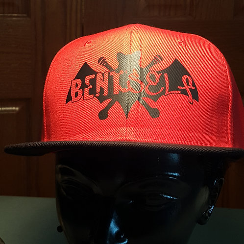 Bent Bat - Snapback Hat
