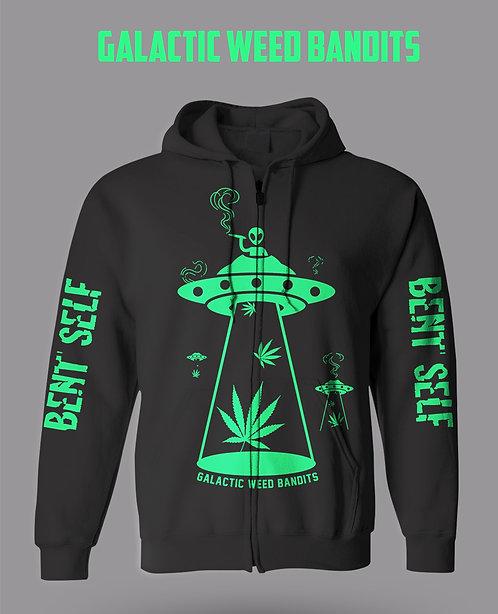 """Galactic Weed Bandits"" Design - (Hoodie)"