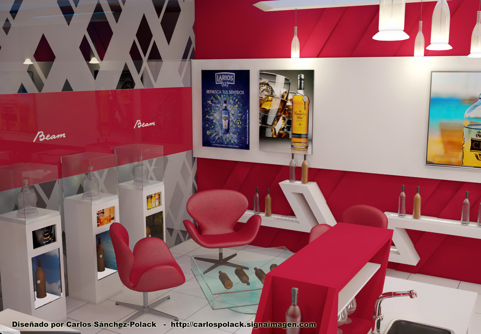 Interior Shop Render