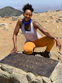Nicole Snell Mt. Baldy Hiking Summit Outdoor Defense