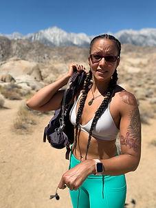 Alabama Hills Nicole Snell Outdor Defense hiking solo