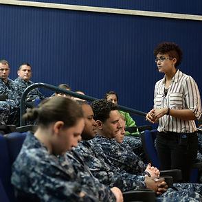 Nicole Snell Sigonella Navy sailors sapr facilitating sexual assault prevention