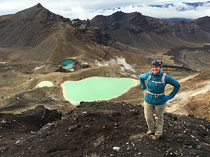 Tongariro Alpine Crossing Nicole Snell hiking