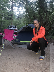 Big Pines camping Nicole Snell Outdor Defense hiking solo
