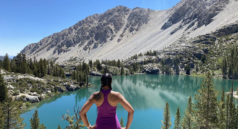 Nicole Snell Lake Hiking Mountain