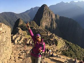 Machu Picchu Nicole Snell hiking adventure