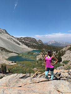 Mammoth Duck Lake alpine Nicole Snell Outdor Defense hiking solo