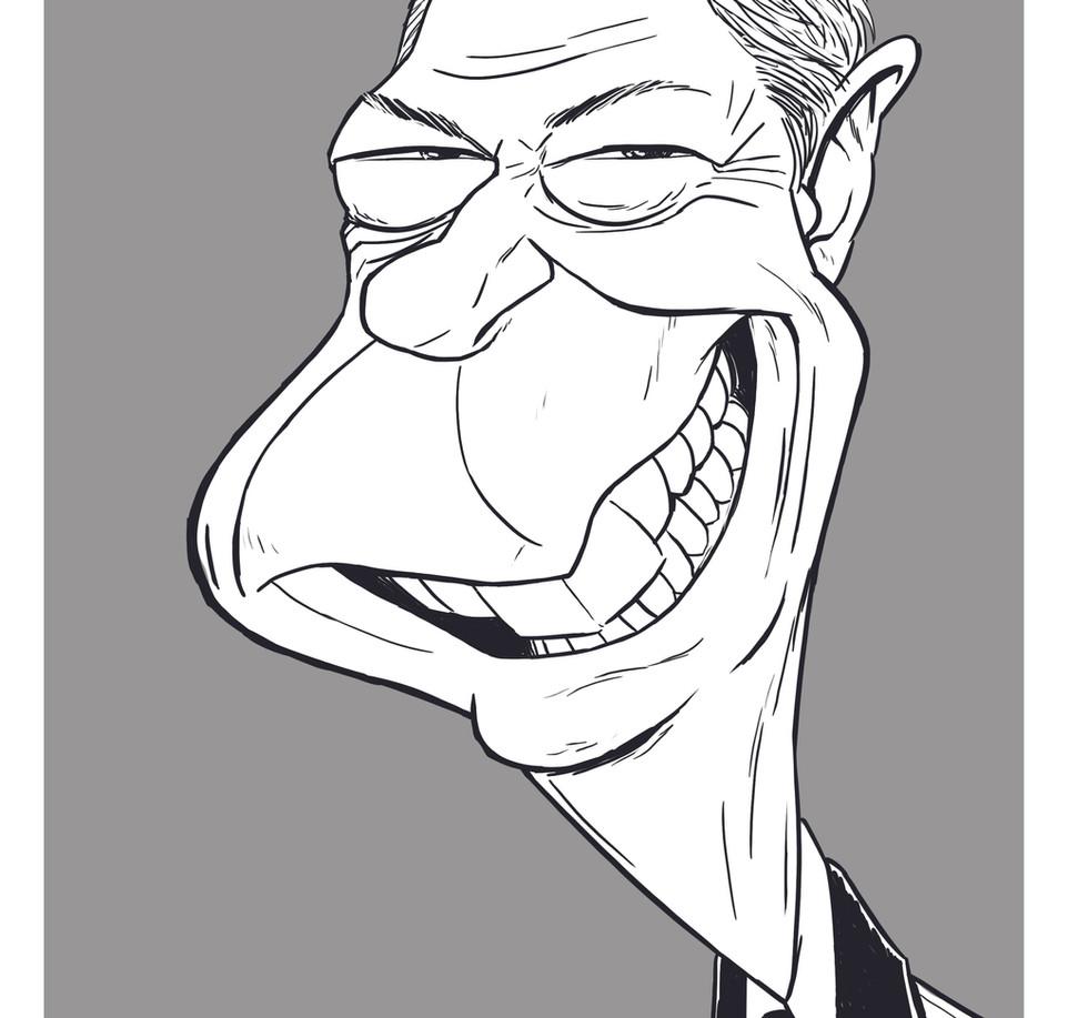 Farage caricature