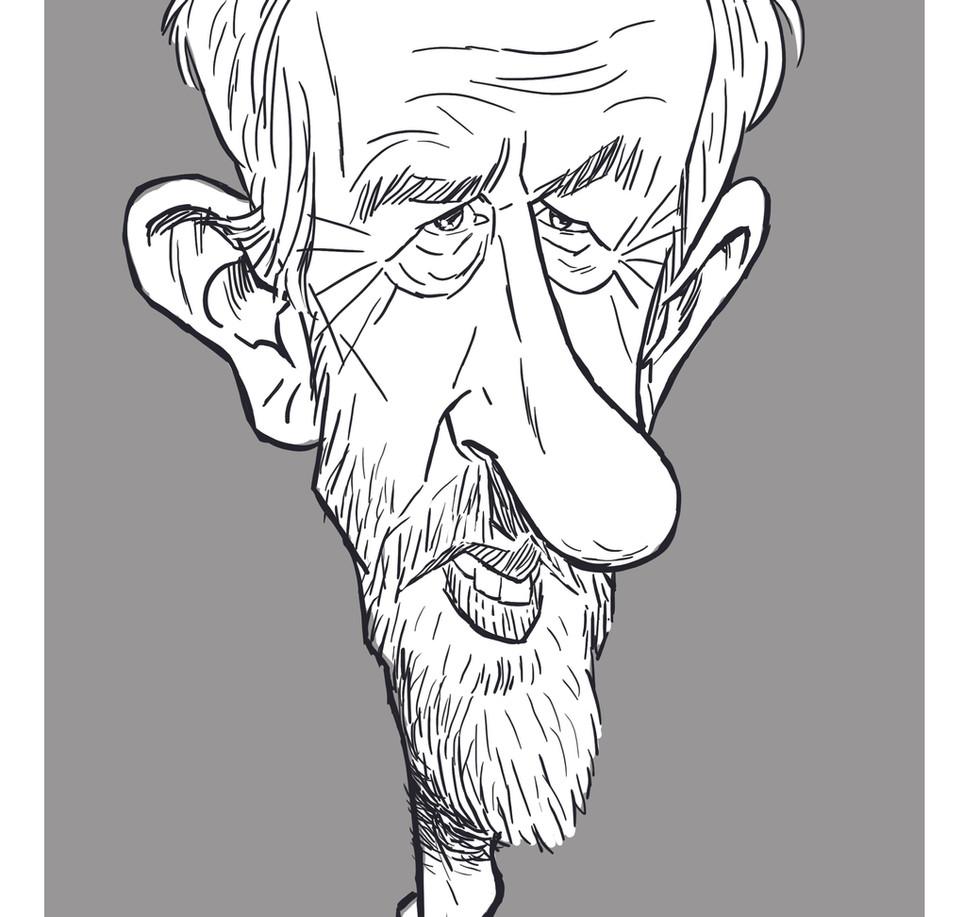 Corbyn caricature