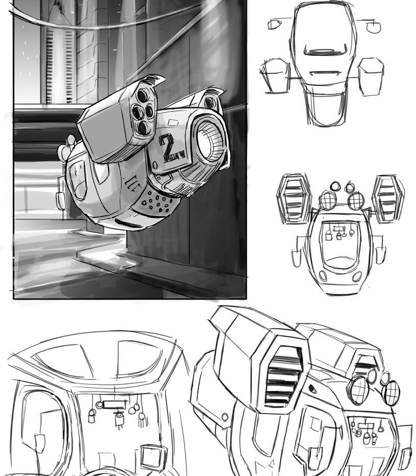 Cab concept art