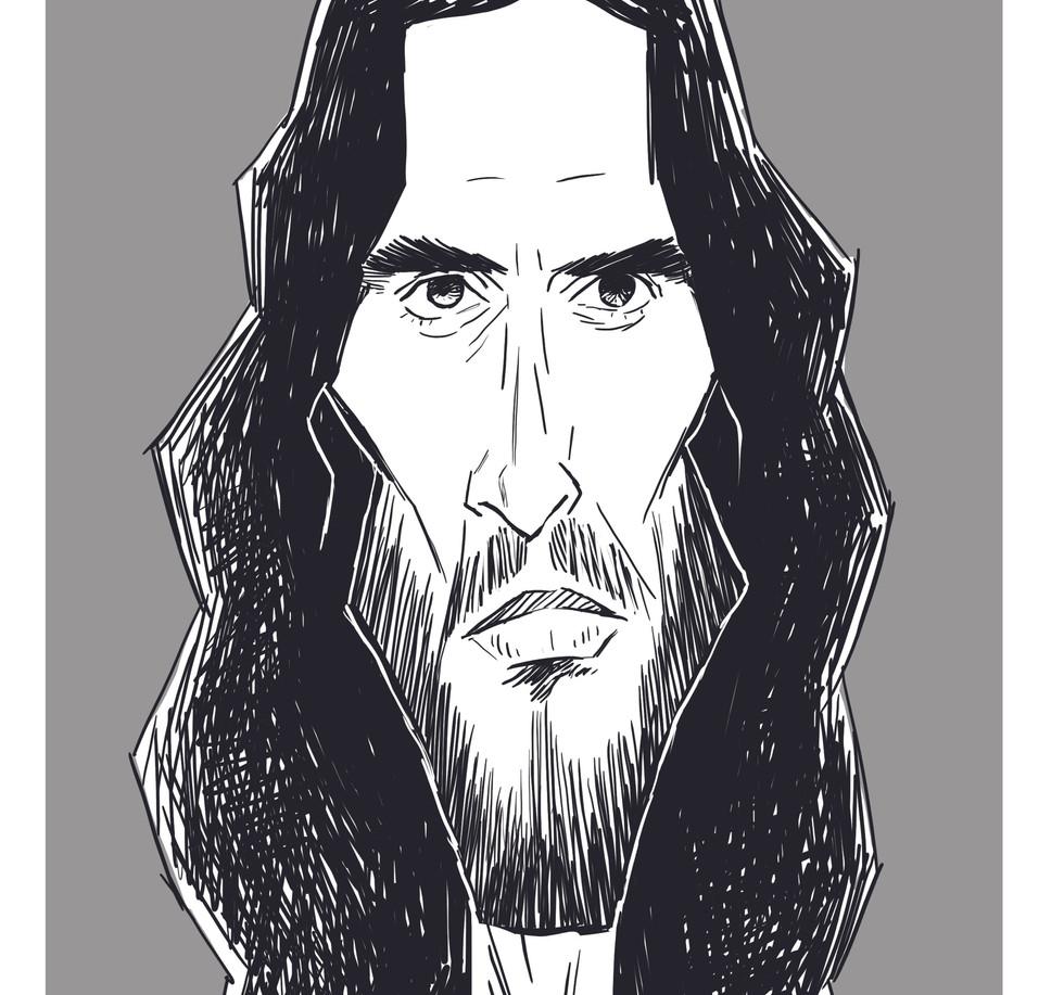 Russel caricature