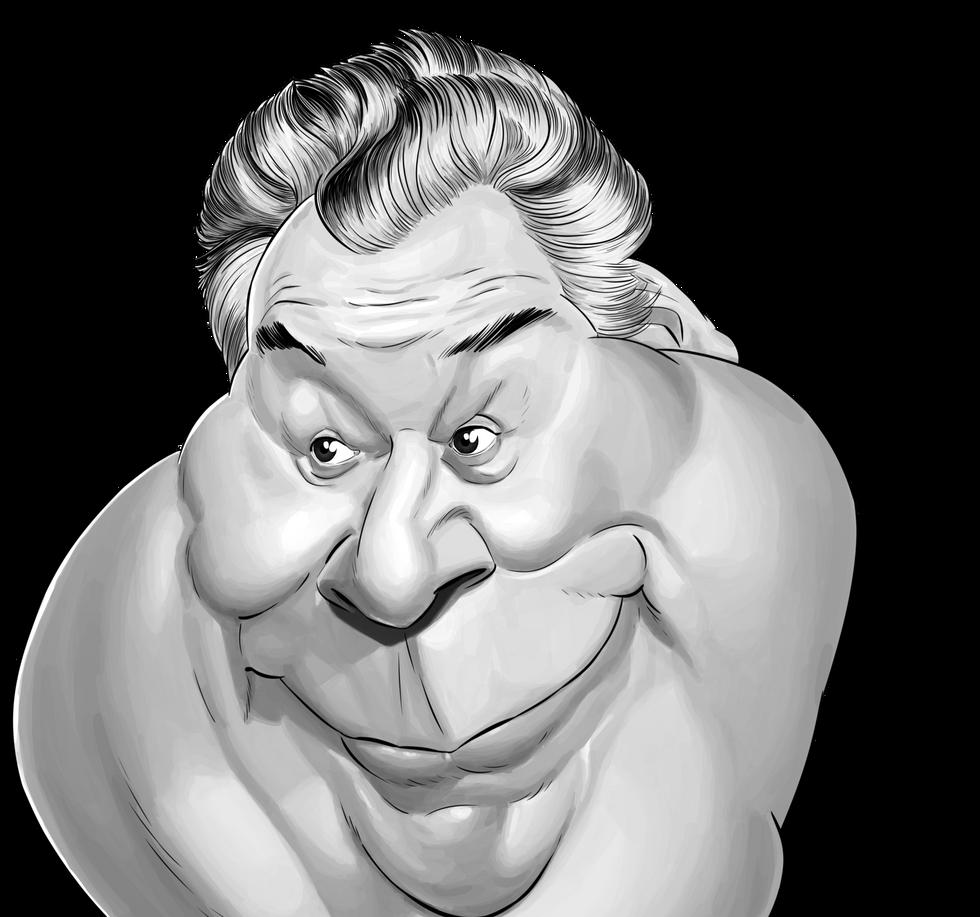 Comedian Carlo Hartmann