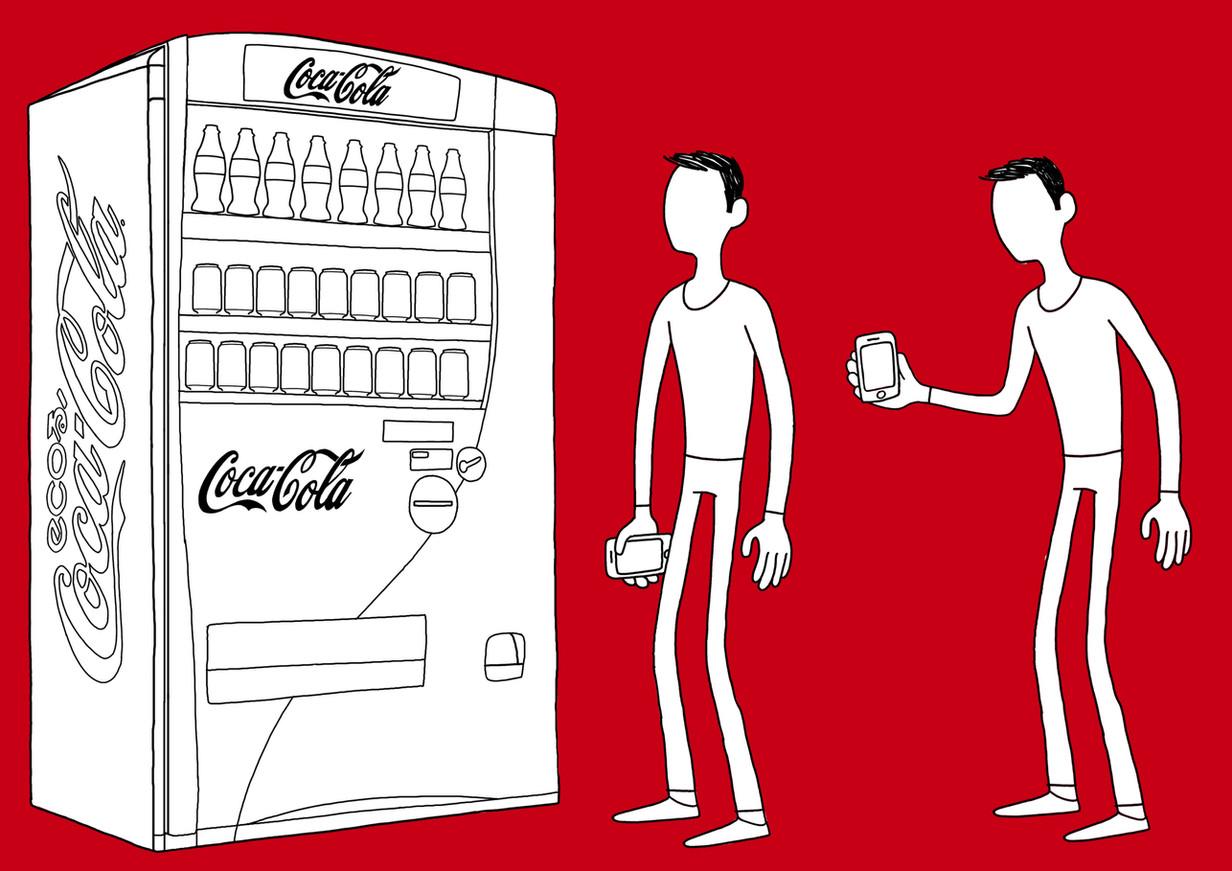 Coca-Cola-Japan character