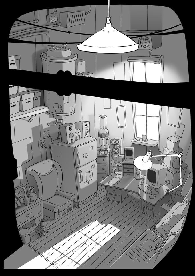 Laboratory-vertical Pan light