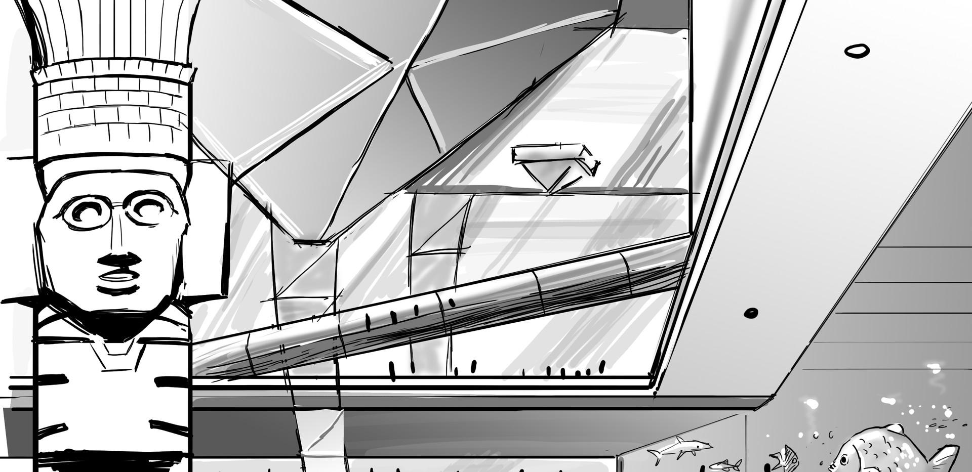 Airport concept art