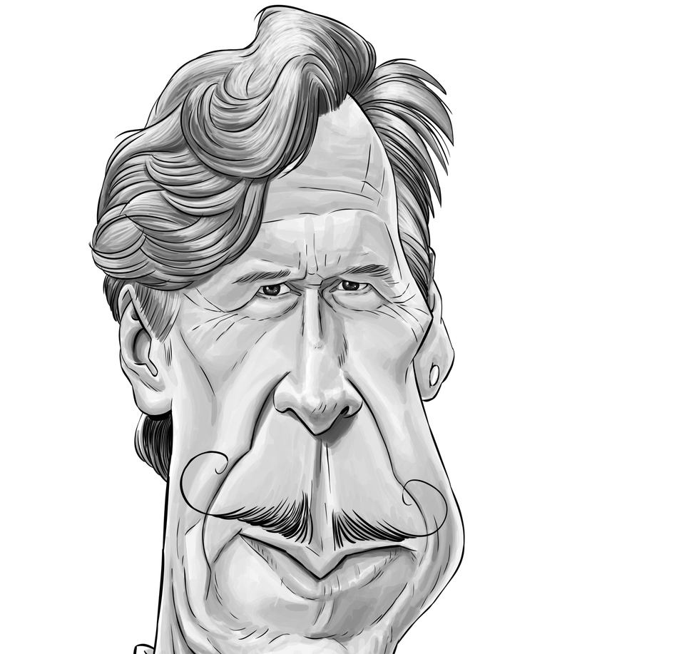 Comedian Al Ginter