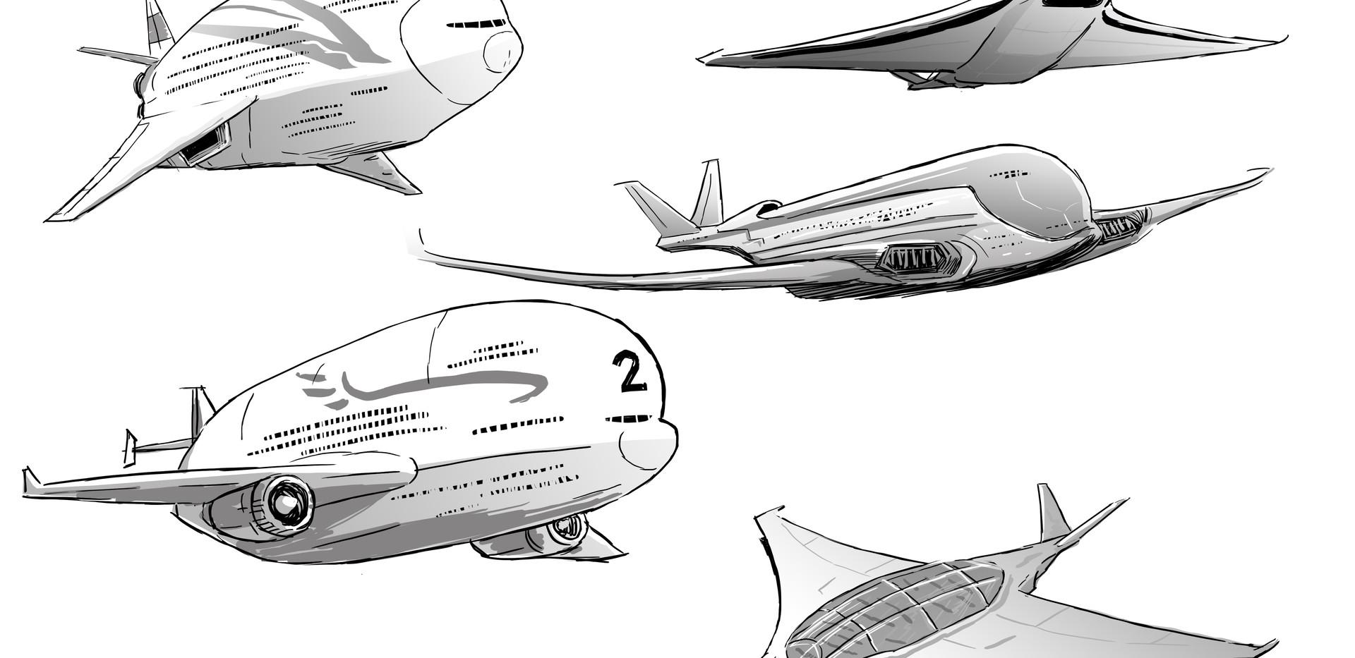 Aircraft concep art