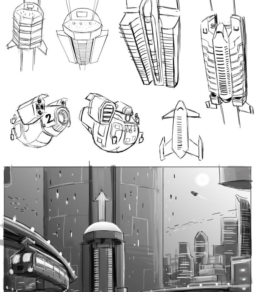 Futuristic Lifts