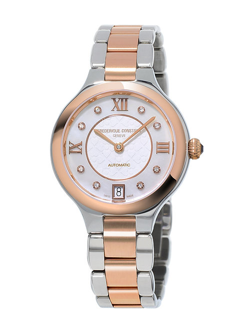 Frederique Constant Classics Delight Automatic 2-tone ladies watch FC-306WHD3ER2