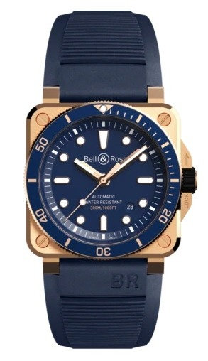 Bell & Ross BR 03 92 Diver  Blue Bronze LIMITED EDITION