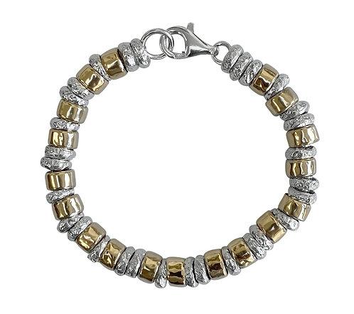 Yaron Morhaim Chunky Rolled Gold Bracelet