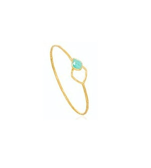 AUREN Amazonite Bangle