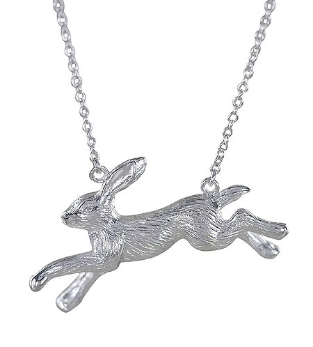 Reeves & Reeves Running Hare Necklace