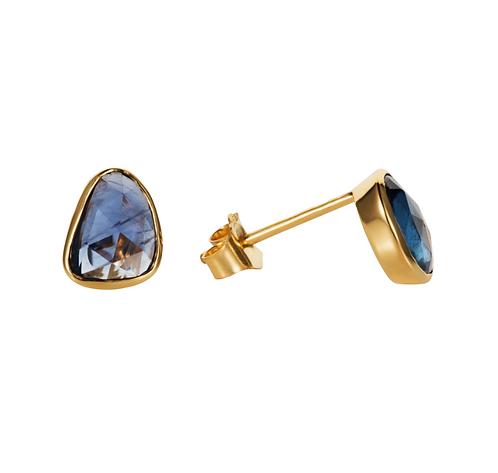 REI Blue Sapphire Studs