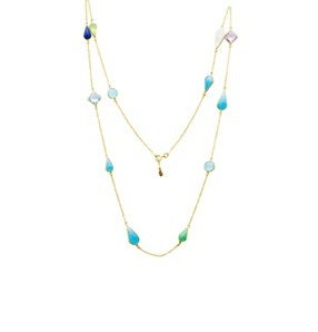 AUREN Multi-gem Necklace