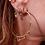 Thumbnail: Large Gypsy Glam Hoop Earrings