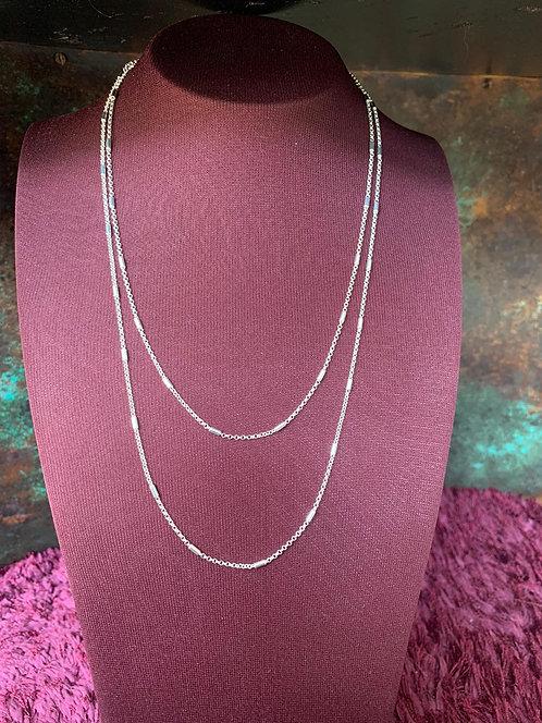 Skinny Sterling Silver Chain