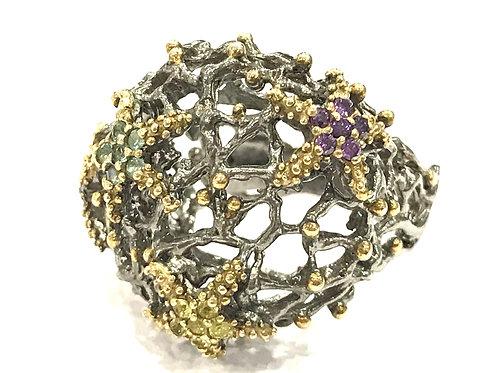 Enigma Starfish Ring