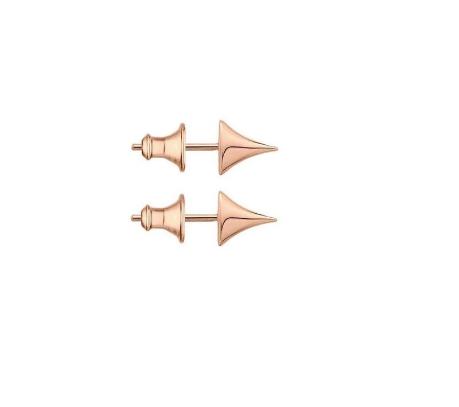 Shaun Leane Rose Gold Vermeil Rose Thorn Stud Earrings