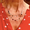 Thumbnail: Reeves & Reeves 2 Layer Dot Necklace