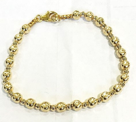Yaron Morhaim Rolled Gold Beaded Bracelet