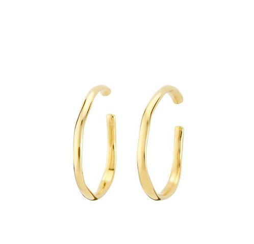 UNOde50 Ohmmm... Earrings Gold