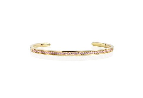 Bangle Valiano Pink Zirconia