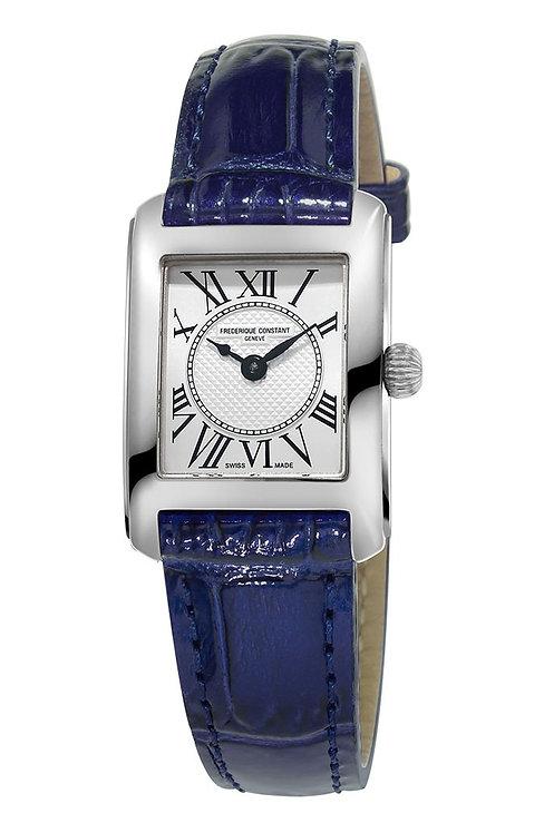 Frederique Constant Classic Carree Navy Ladies Watch