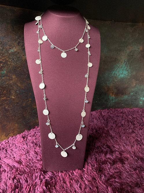 Layered Bead & Disc Chain
