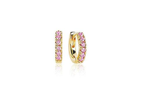 Earrings Ellera Piccolo Pink Zirconia