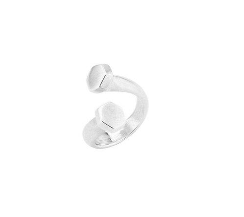 UNOde50 Determination Ring Silver