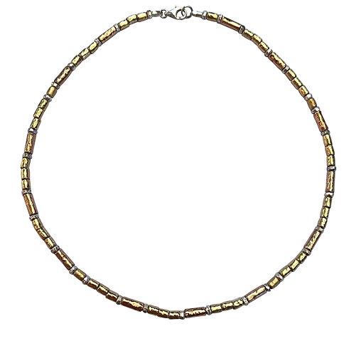 Yaron Morhaim Skinny Bi-colour Necklace