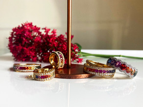 Sapphire Rainbow Jewellery