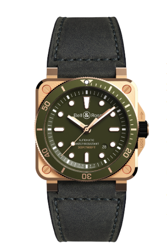 Limited Edition BR 03-92 Diver Green Bronze