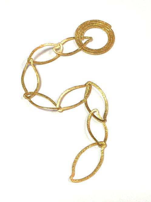 Origammi 14ct Yellow Gold Bracelet