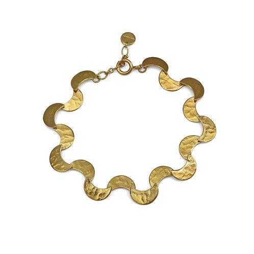 Cara Tonkin YG Selene Ripple Bracelet