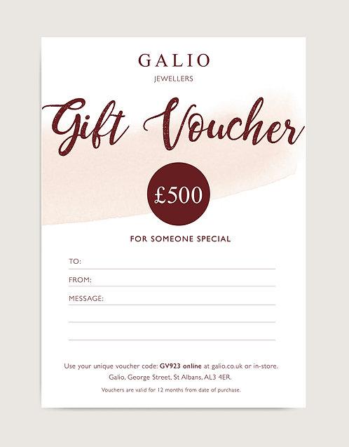 £500 Gift Voucher